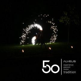 Den 50. narozenin pro kuchyňské dřezy ALVEUS