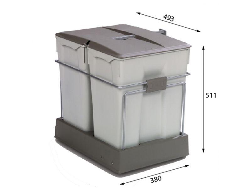 Albio 40 - 2x30 litrov